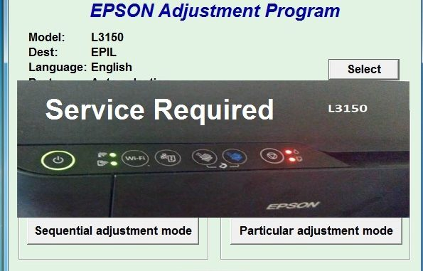 how to Reset Epson L3150 Download Tool